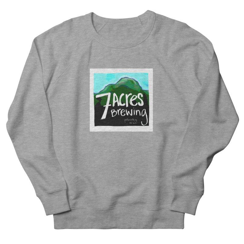 7 Acres Brewing Men's Sweatshirt by Renee Leigh Stephenson Artist Shop