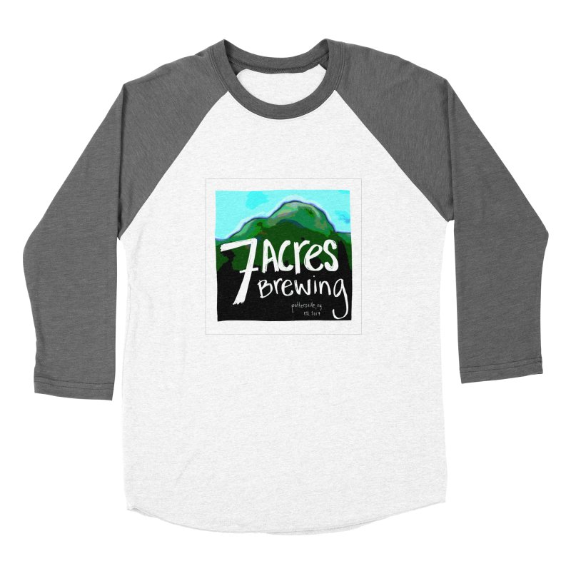 7 Acres Brewing Women's Baseball Triblend T-Shirt by Renee Leigh Stephenson Artist Shop