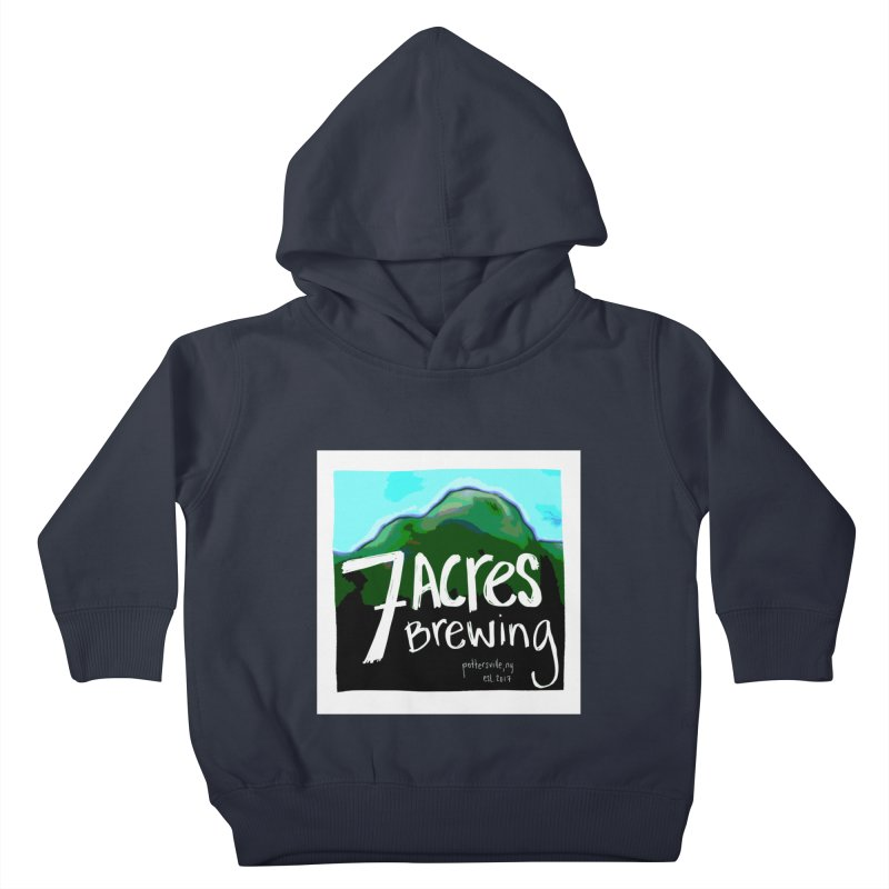 7 Acres Brewing Kids Toddler Pullover Hoody by Renee Leigh Stephenson Artist Shop