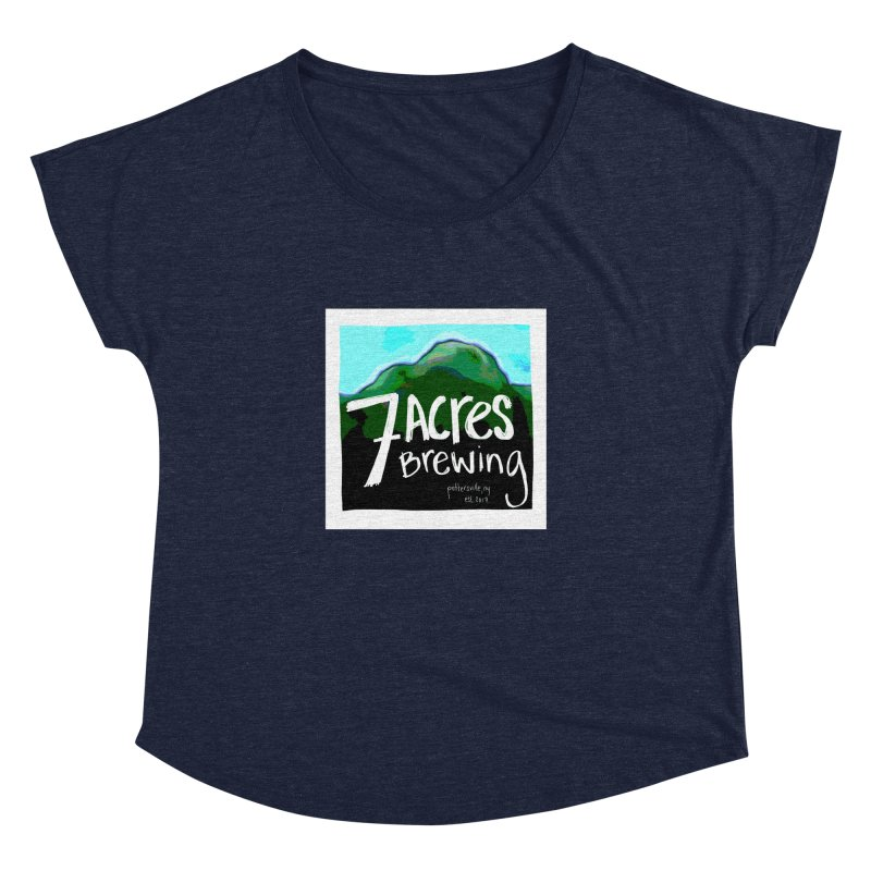 7 Acres Brewing Women's  by Renee Leigh Stephenson Artist Shop