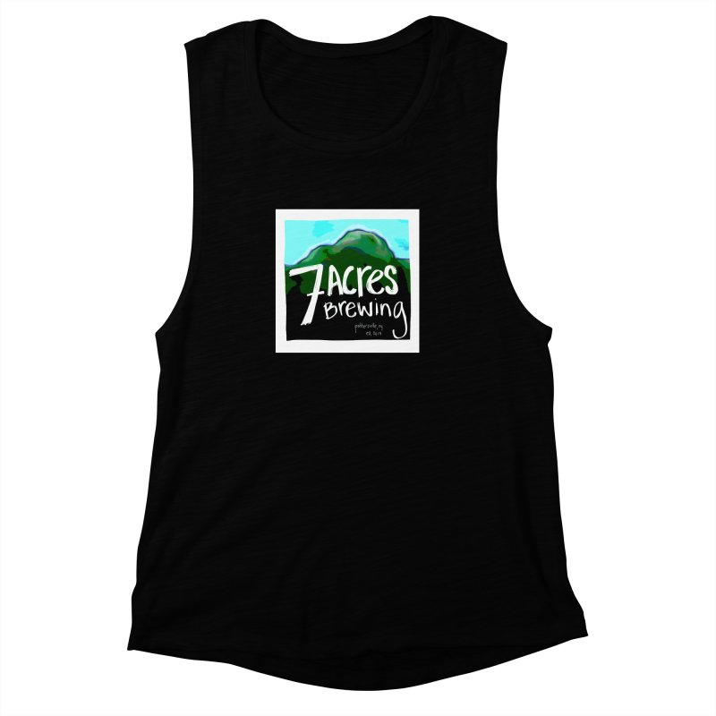 7 Acres Brewing Women's Muscle Tank by Renee Leigh Stephenson Artist Shop