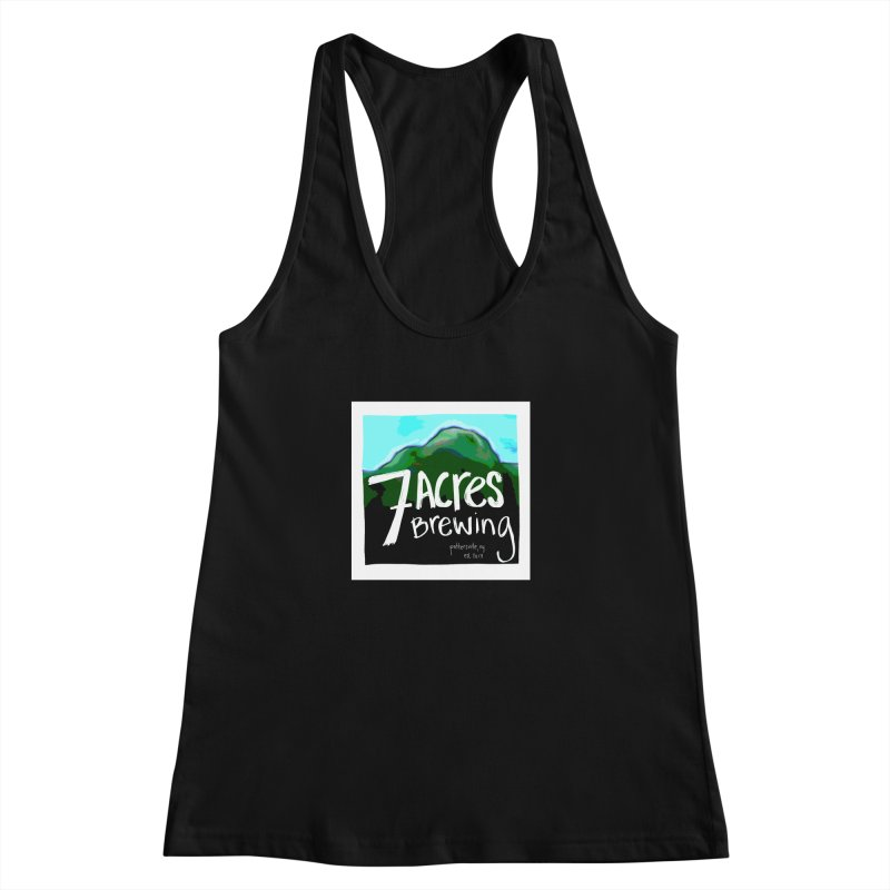 7 Acres Brewing Women's Racerback Tank by Renee Leigh Stephenson Artist Shop