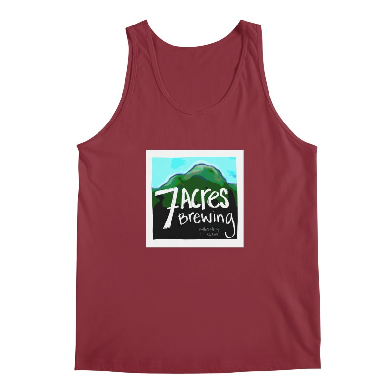 7 Acres Brewing Men's Tank by Renee Leigh Stephenson Artist Shop