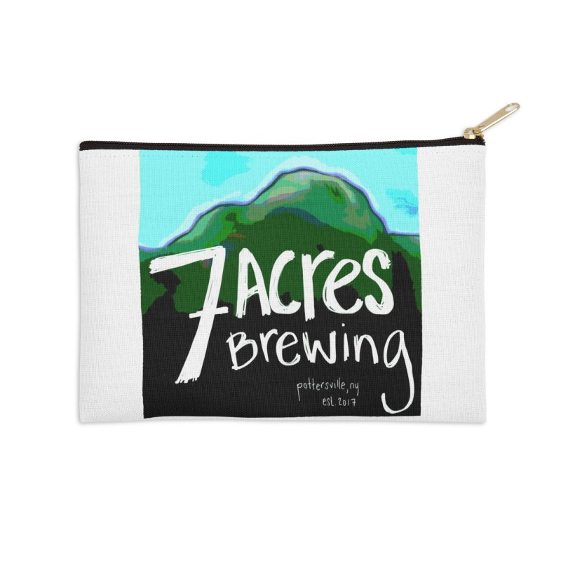 7 Acres Brewing Accessories Zip Pouch by Renee Leigh Stephenson Artist Shop