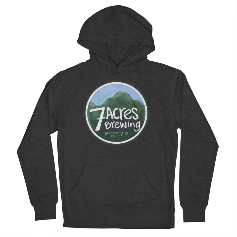 7 Acres Brewing Badge Women's Pullover Hoody by Renee Leigh Stephenson Artist Shop