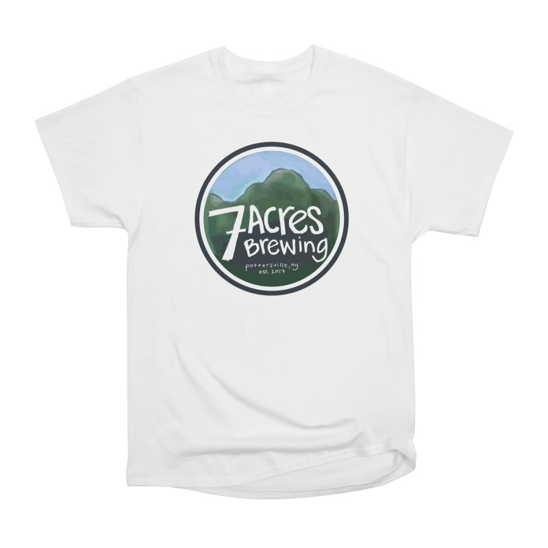 7 Acres Brewing Badge Men's Classic T-Shirt by Renee Leigh Stephenson Artist Shop