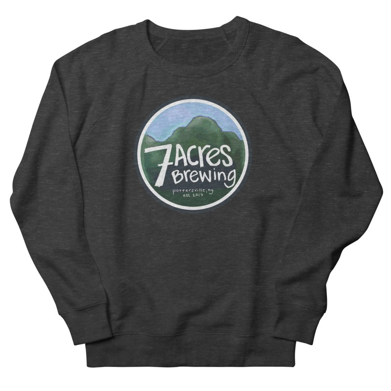 7 Acres Brewing Badge Women's Sweatshirt by Renee Leigh Stephenson Artist Shop