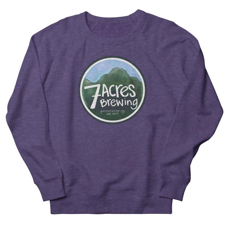 7 Acres Brewing Badge Women's Sweatshirt by Renee Leigh Stephenson Artist Shop