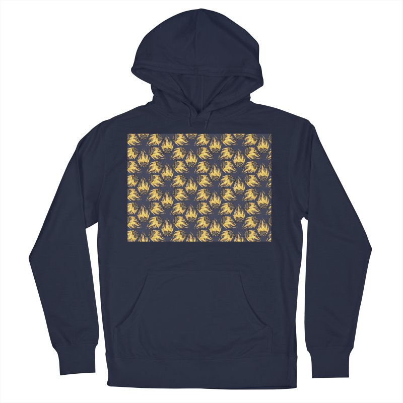 Campfire Pattern Women's Pullover Hoody by Renee Leigh Stephenson Artist Shop