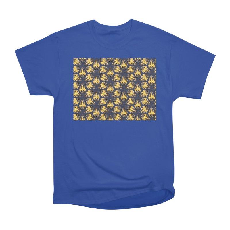 Campfire Pattern Women's Classic Unisex T-Shirt by Renee Leigh Stephenson Artist Shop
