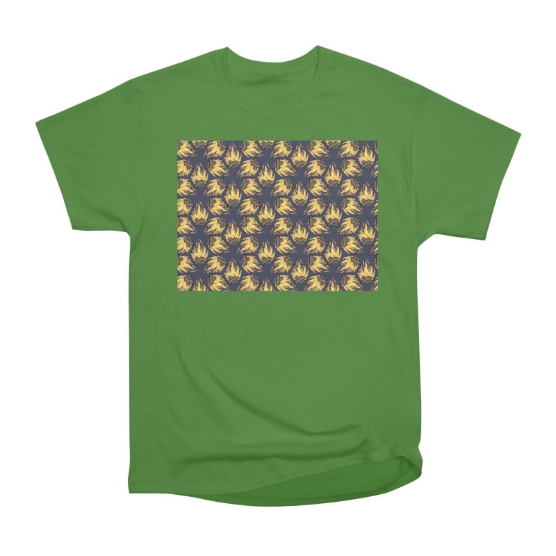Campfire Pattern Men's Classic T-Shirt by Renee Leigh Stephenson Artist Shop