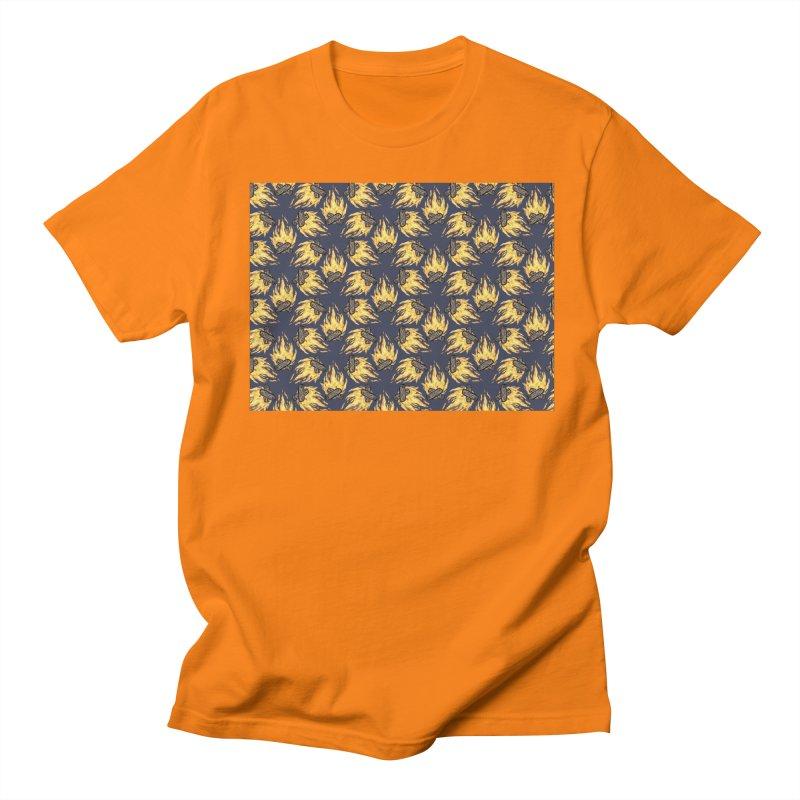 Campfire Pattern Women's Unisex T-Shirt by Renee Leigh Stephenson Artist Shop