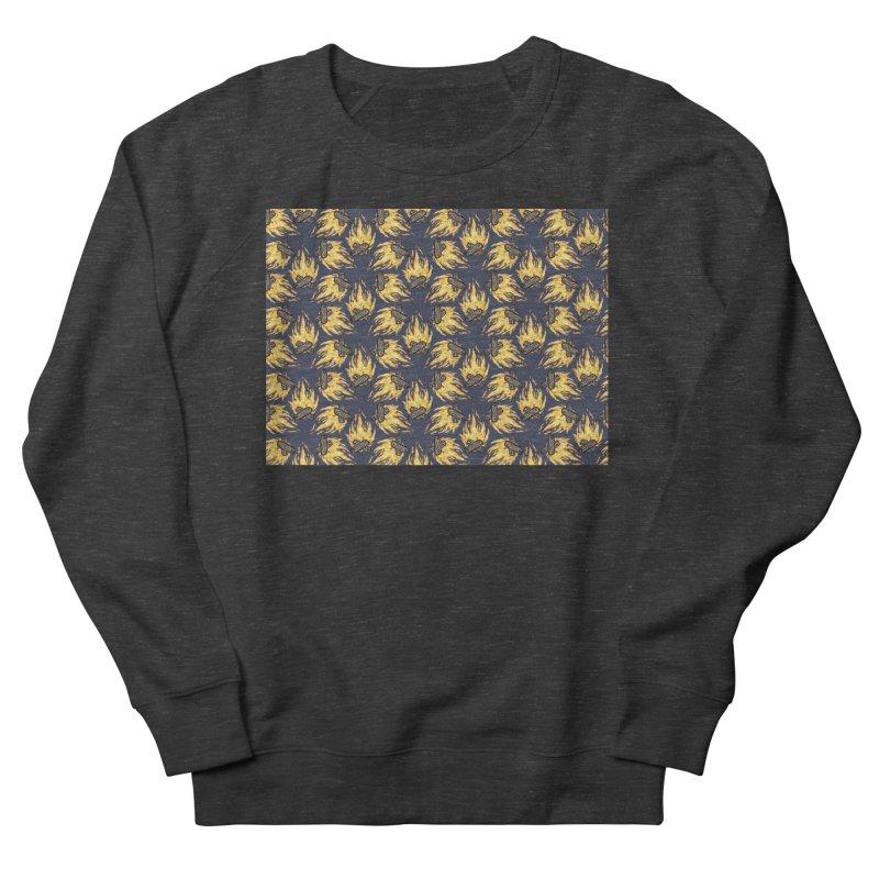 Campfire Pattern Women's Sweatshirt by Renee Leigh Stephenson Artist Shop