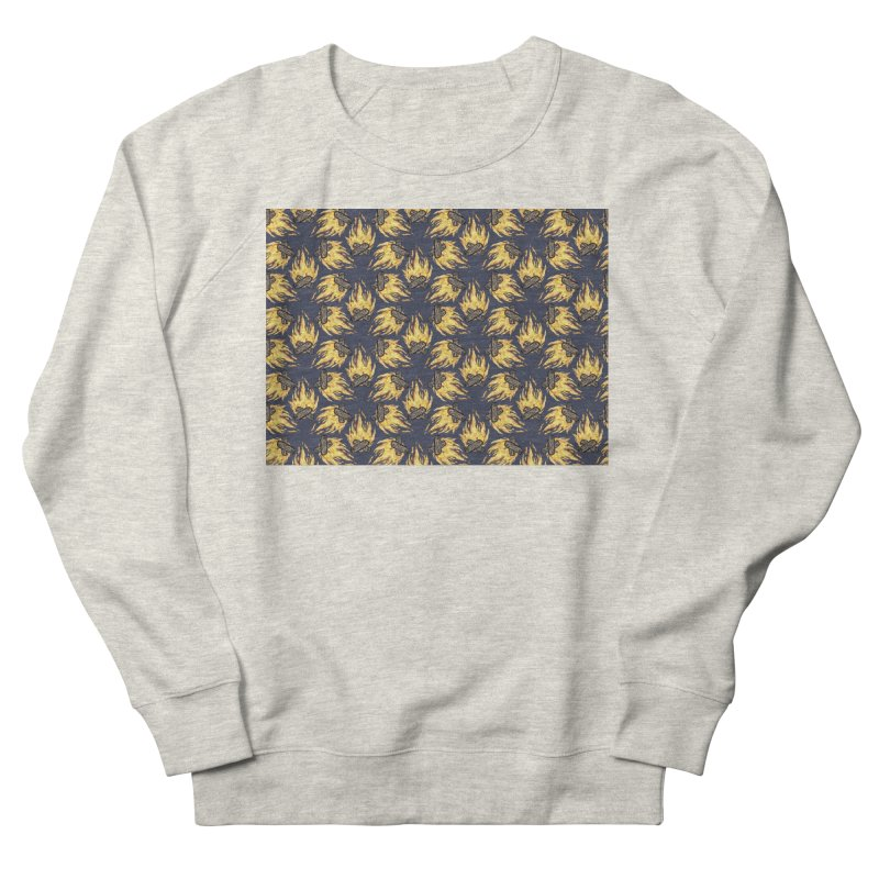 Campfire Pattern Women's Sweatshirt by Renee Leigh Stephenson Artist Shop