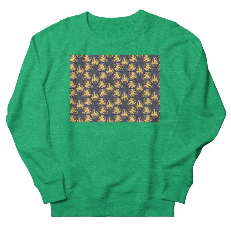 Campfire Pattern Men's Sweatshirt by Renee Leigh Stephenson Artist Shop