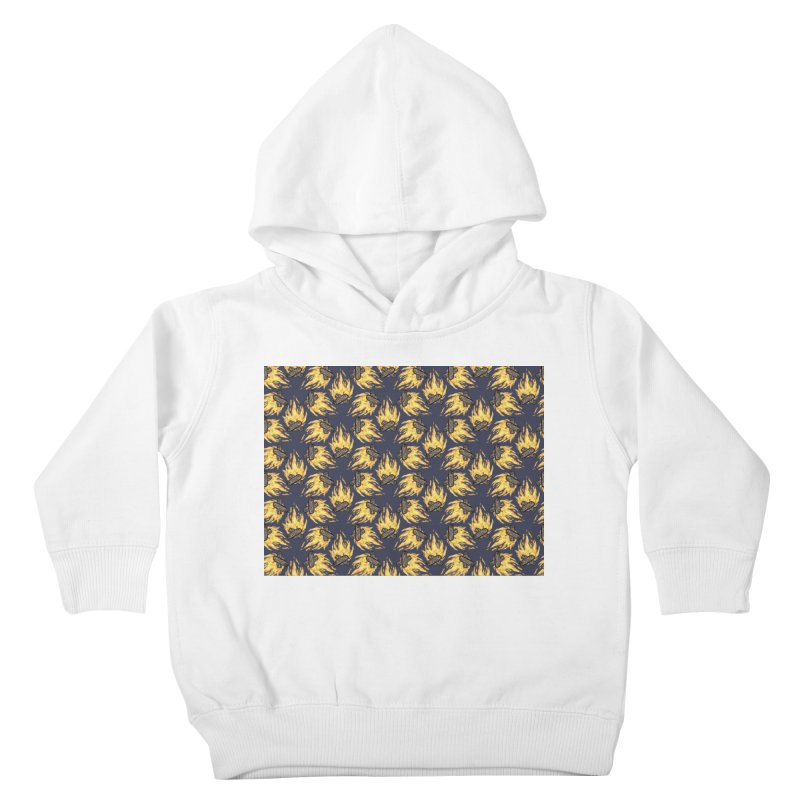 Campfire Pattern Kids Toddler Pullover Hoody by Renee Leigh Stephenson Artist Shop