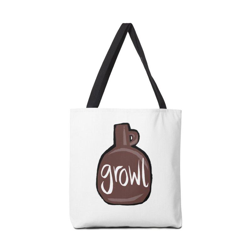 Growl Accessories Bag by Renee Leigh Stephenson Artist Shop
