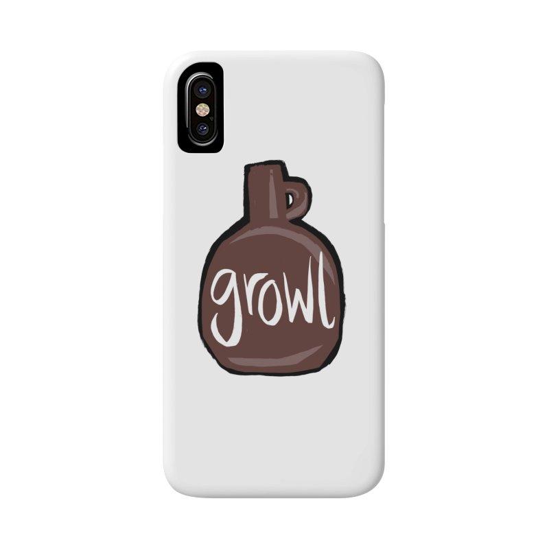 Growl Accessories Phone Case by Renee Leigh Stephenson Artist Shop