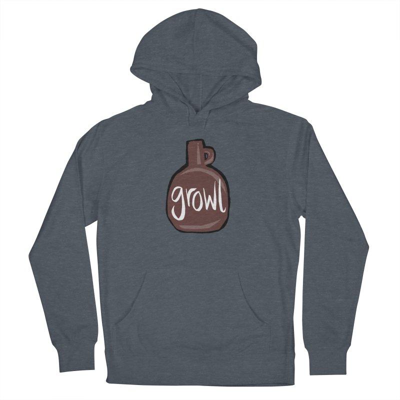 Growl Men's Pullover Hoody by Renee Leigh Stephenson Artist Shop