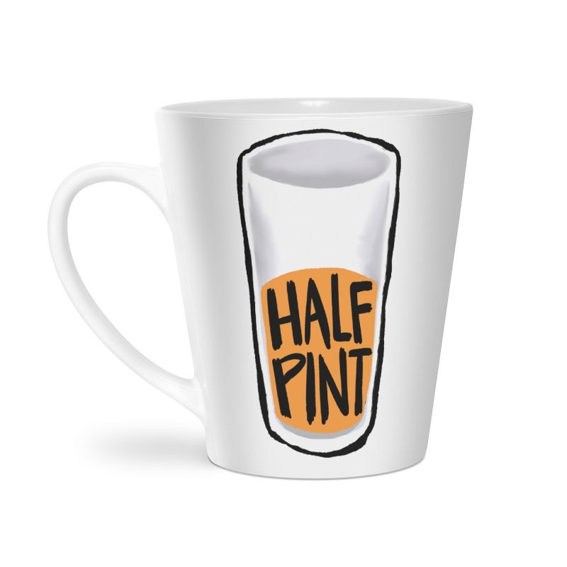 Half Pint Accessories Latte Mug by Renee Leigh Stephenson Artist Shop