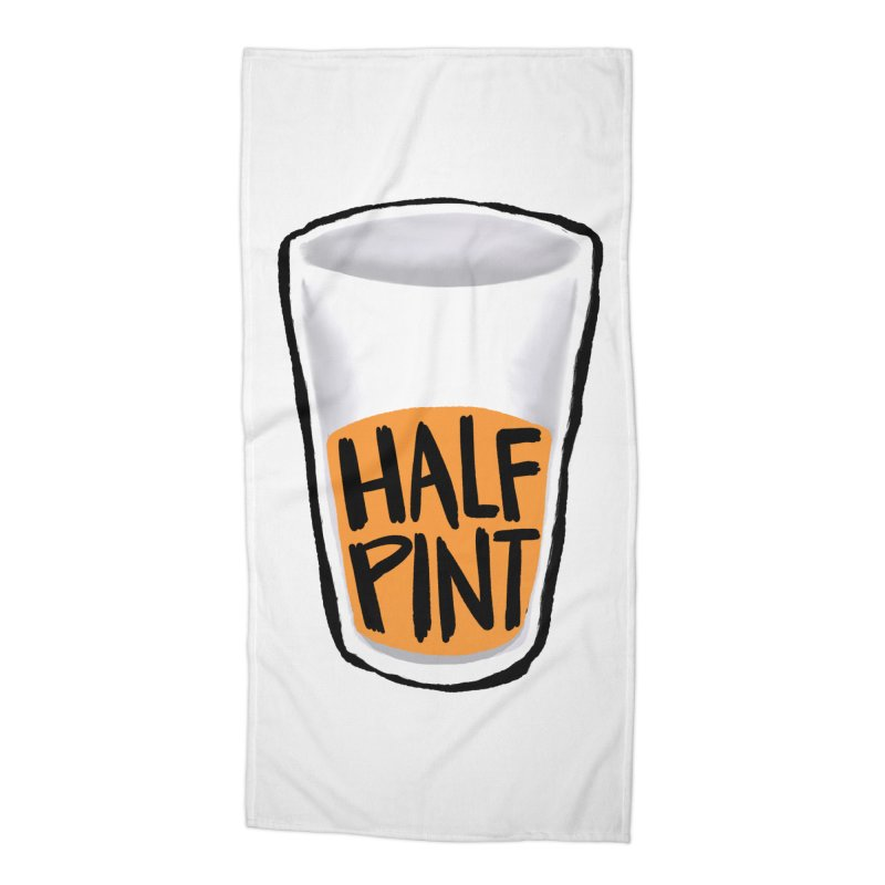 Half Pint Accessories Beach Towel by Renee Leigh Stephenson Artist Shop