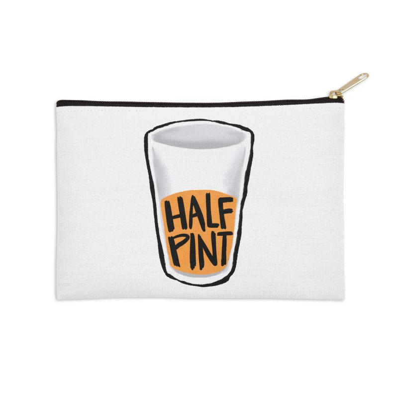 Half Pint Accessories Zip Pouch by Renee Leigh Stephenson Artist Shop