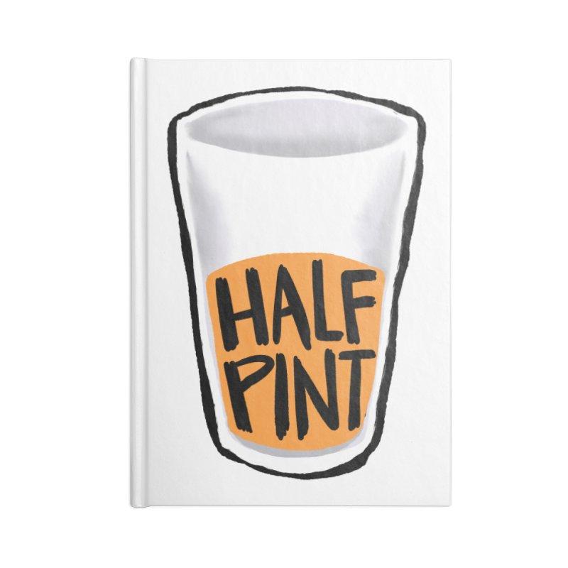 Half Pint Accessories Notebook by Renee Leigh Stephenson Artist Shop