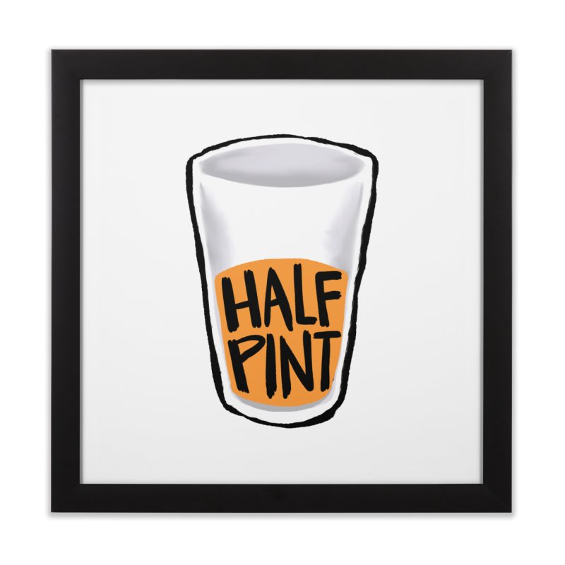 Half Pint Home Framed Fine Art Print by Renee Leigh Stephenson Artist Shop