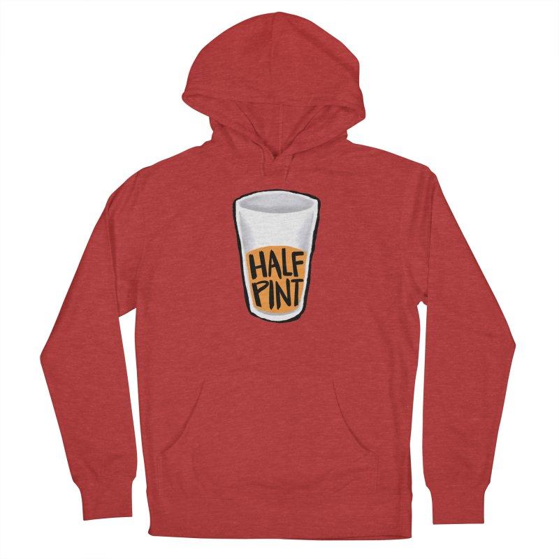 Half Pint Men's Pullover Hoody by Renee Leigh Stephenson Artist Shop