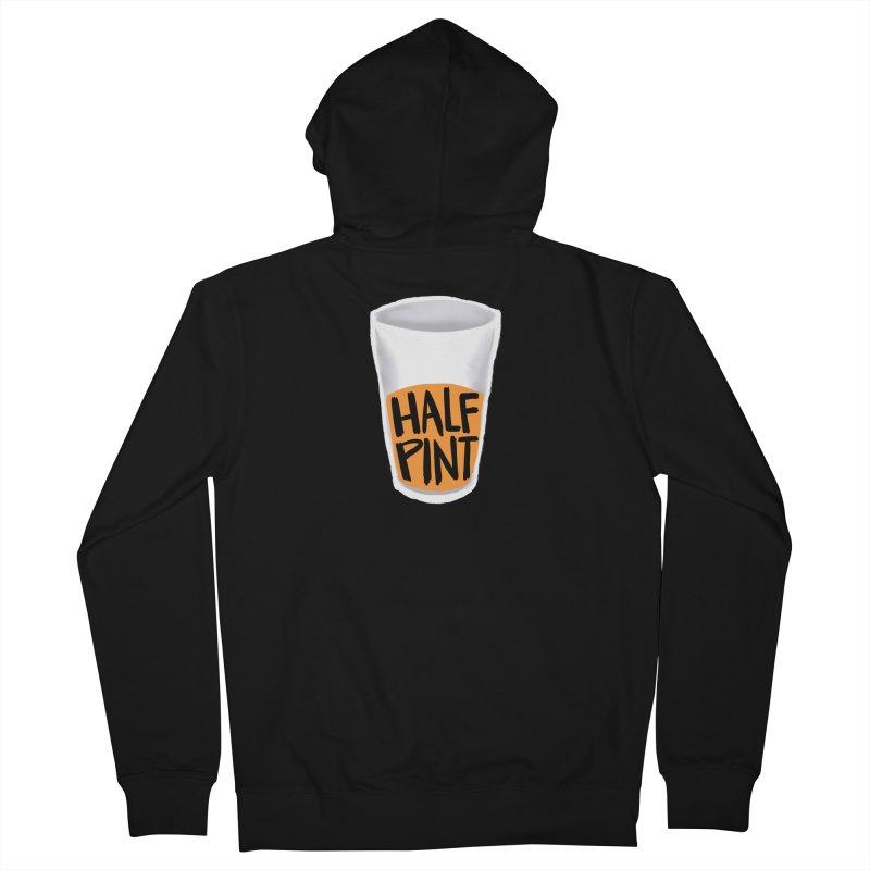 Half Pint Men's Zip-Up Hoody by Renee Leigh Stephenson Artist Shop