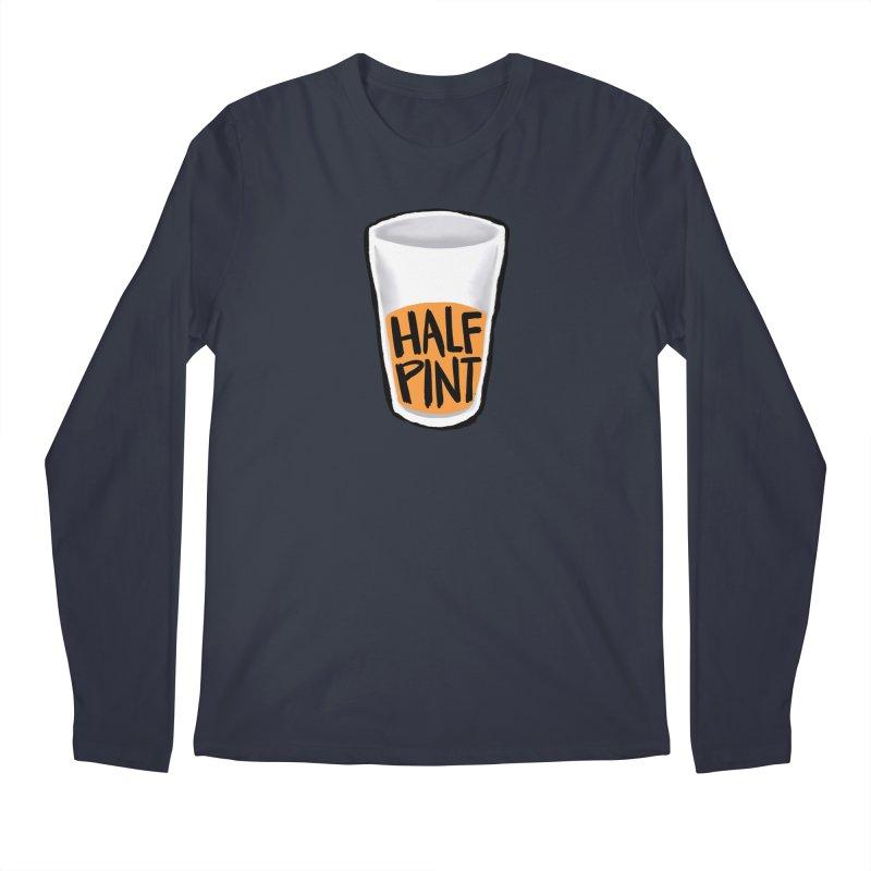 Half Pint Men's Longsleeve T-Shirt by Renee Leigh Stephenson Artist Shop