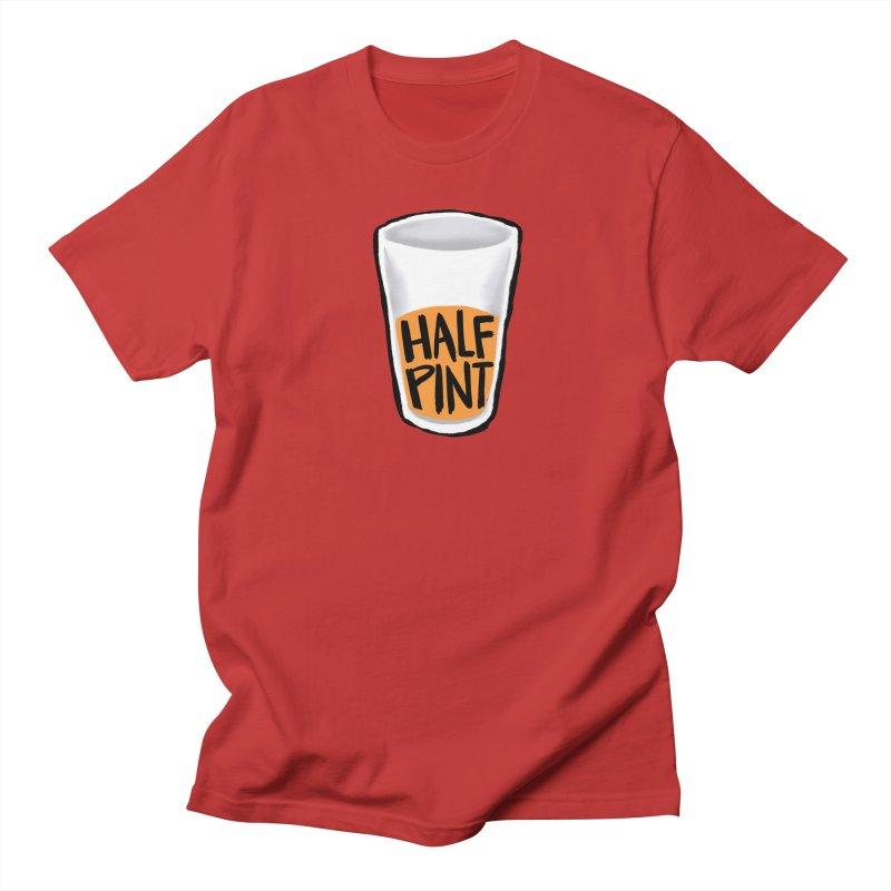 Half Pint Men's Regular T-Shirt by Renee Leigh Stephenson Artist Shop