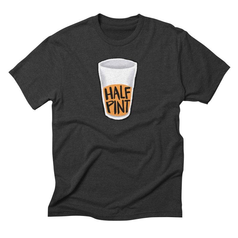 Half Pint Men's Triblend T-Shirt by Renee Leigh Stephenson Artist Shop