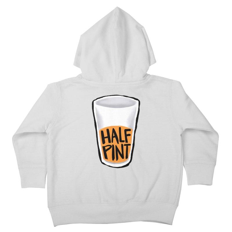 Half Pint Kids Toddler Zip-Up Hoody by Renee Leigh Stephenson Artist Shop
