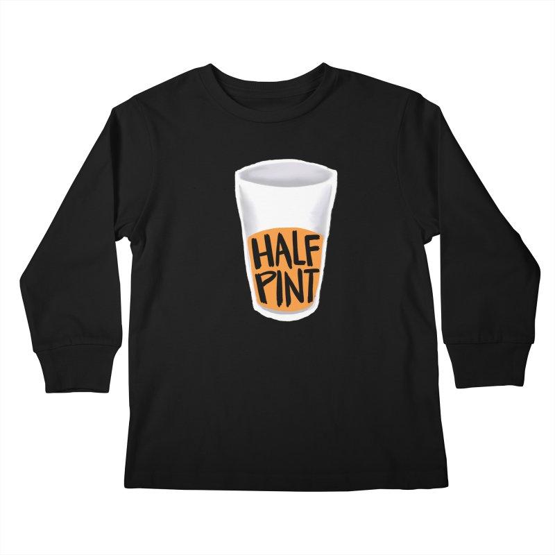 Half Pint Kids Longsleeve T-Shirt by Renee Leigh Stephenson Artist Shop