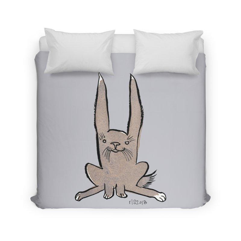 Hoppy Little Rabbit Home  by Renee Leigh Stephenson Artist Shop