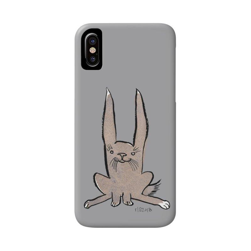 Hoppy Little Rabbit Accessories Phone Case by Renee Leigh Stephenson Artist Shop