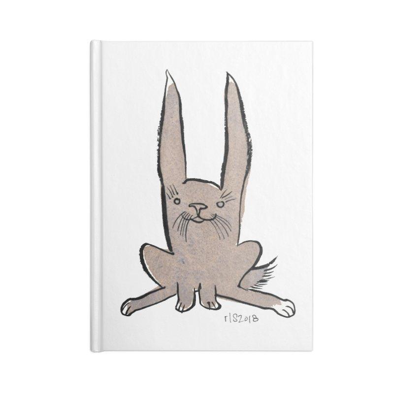Hoppy Little Rabbit Accessories Notebook by Renee Leigh Stephenson Artist Shop