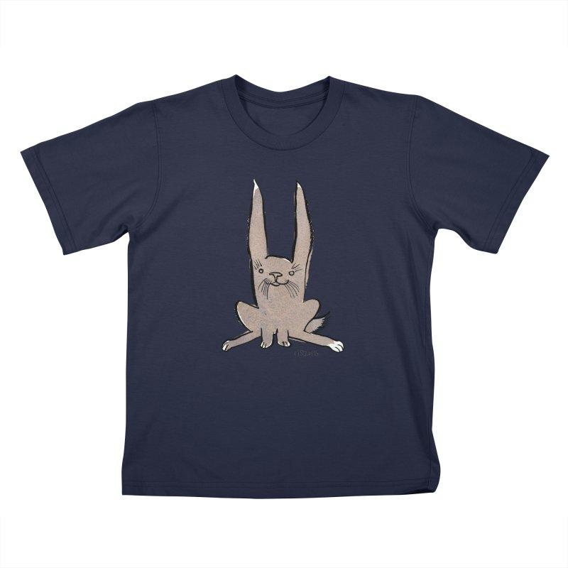 Hoppy Little Rabbit Kids  by Renee Leigh Stephenson Artist Shop