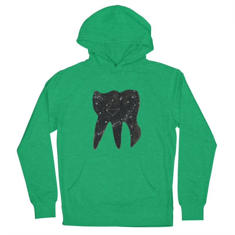 Cosmic Tooth Men's Pullover Hoody by Renee Leigh Stephenson Artist Shop