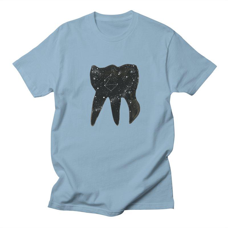 Cosmic Tooth Men's T-shirt by Renee Leigh Stephenson Artist Shop