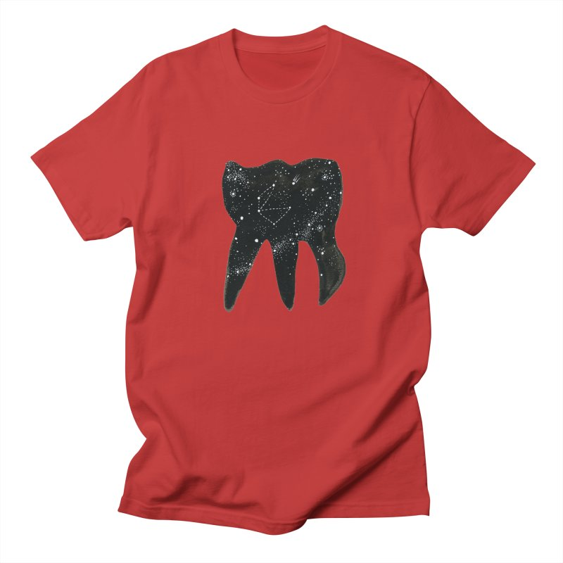 Cosmic Tooth Women's Unisex T-Shirt by Renee Leigh Stephenson Artist Shop