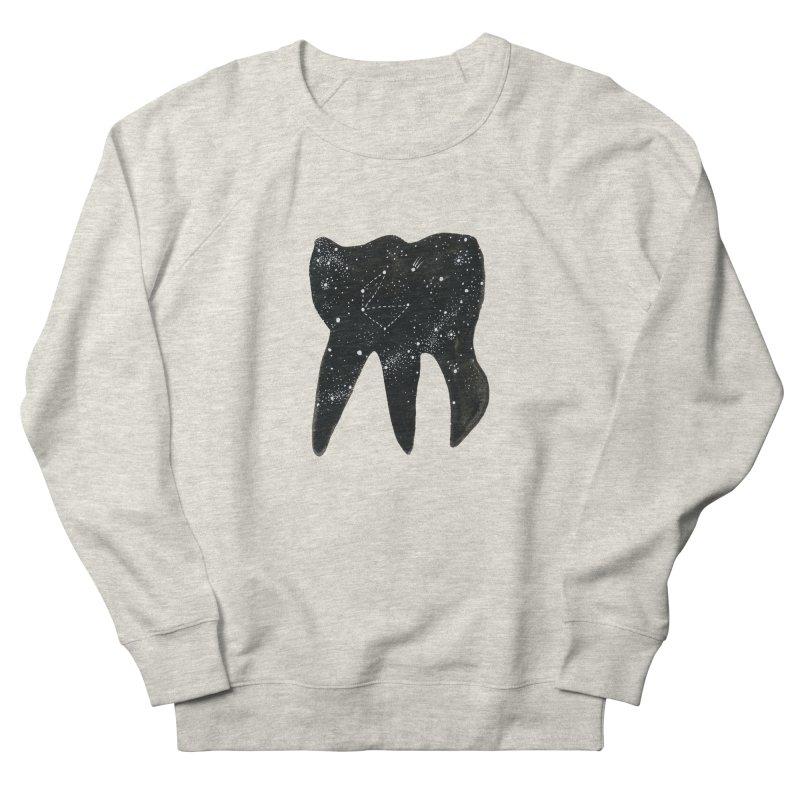 Cosmic Tooth Women's Sweatshirt by Renee Leigh Stephenson Artist Shop