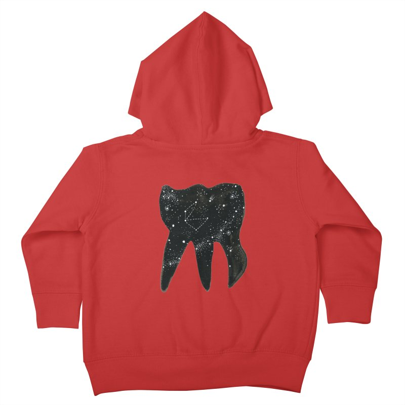 Cosmic Tooth Kids Toddler Zip-Up Hoody by Renee Leigh Stephenson Artist Shop