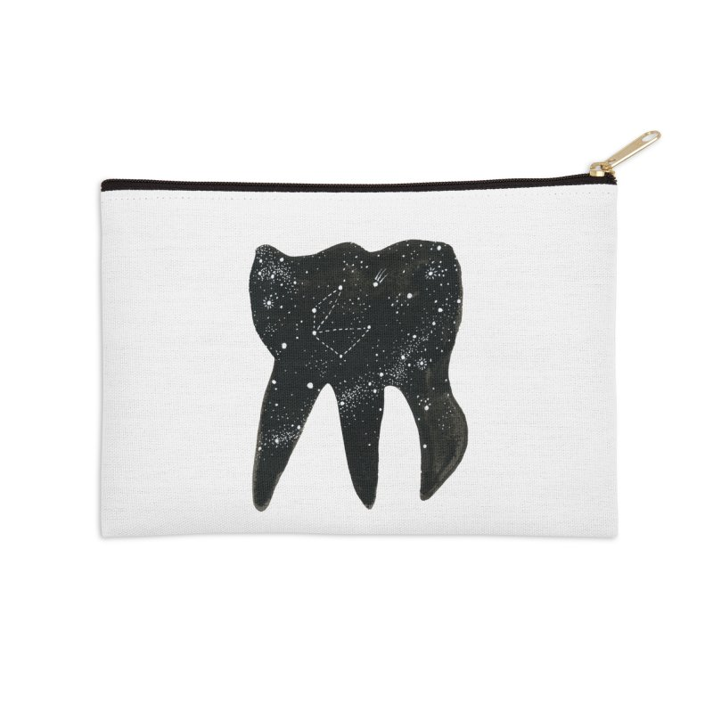 Cosmic Tooth Accessories Zip Pouch by Renee Leigh Stephenson Artist Shop