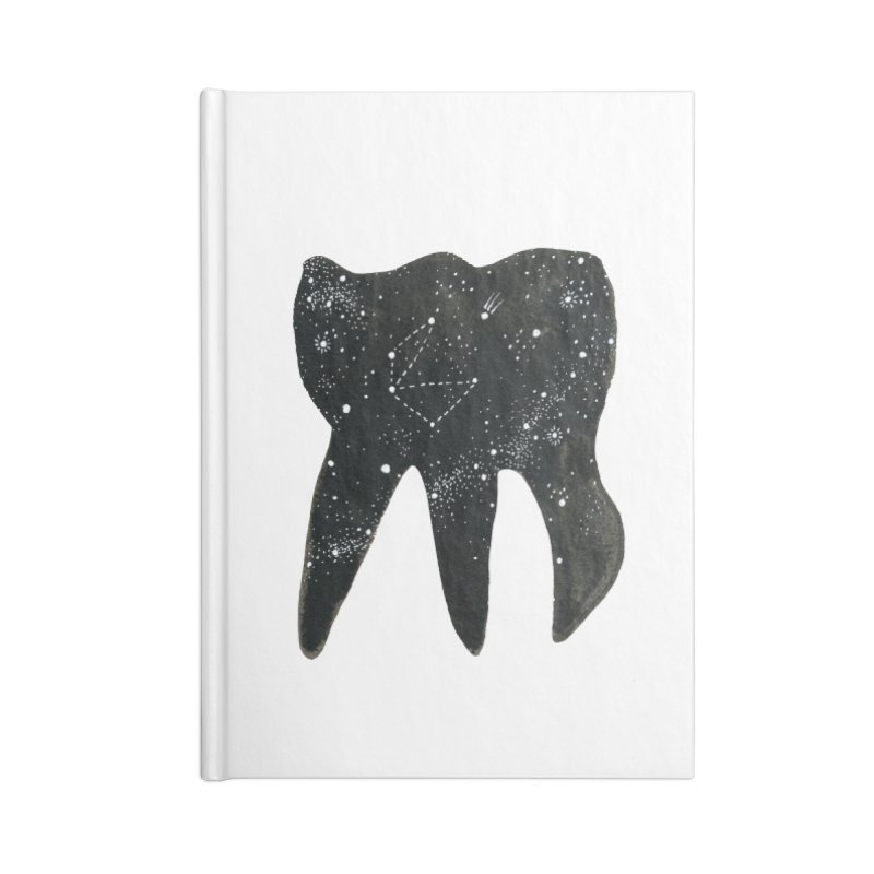Cosmic Tooth Accessories Notebook by Renee Leigh Stephenson Artist Shop