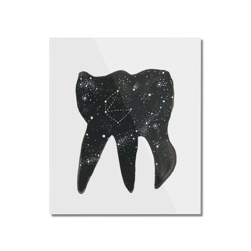 Cosmic Tooth Home Mounted Acrylic Print by Renee Leigh Stephenson Artist Shop