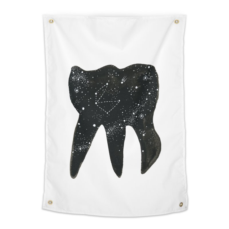 Cosmic Tooth Home Tapestry by Renee Leigh Stephenson Artist Shop