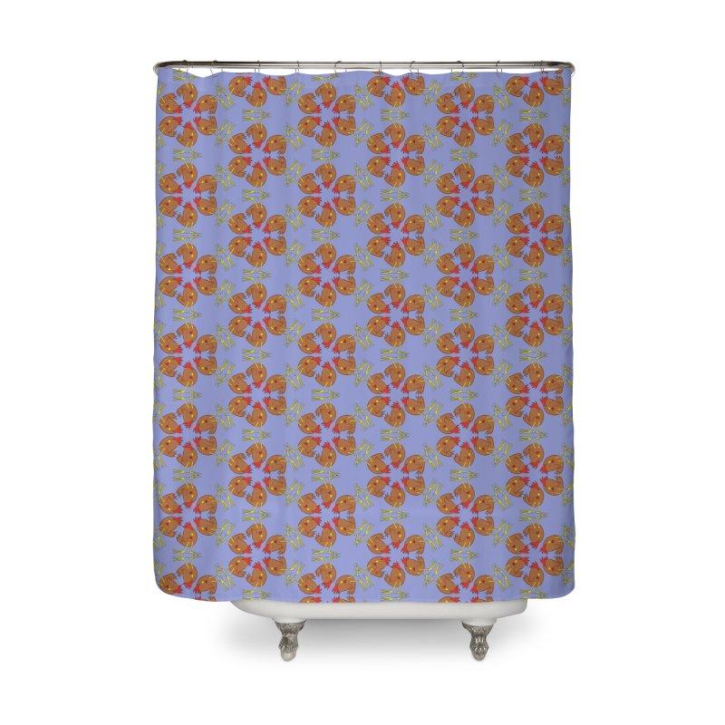 Chicken Pattern Home Shower Curtain by Renee Leigh Stephenson Artist Shop