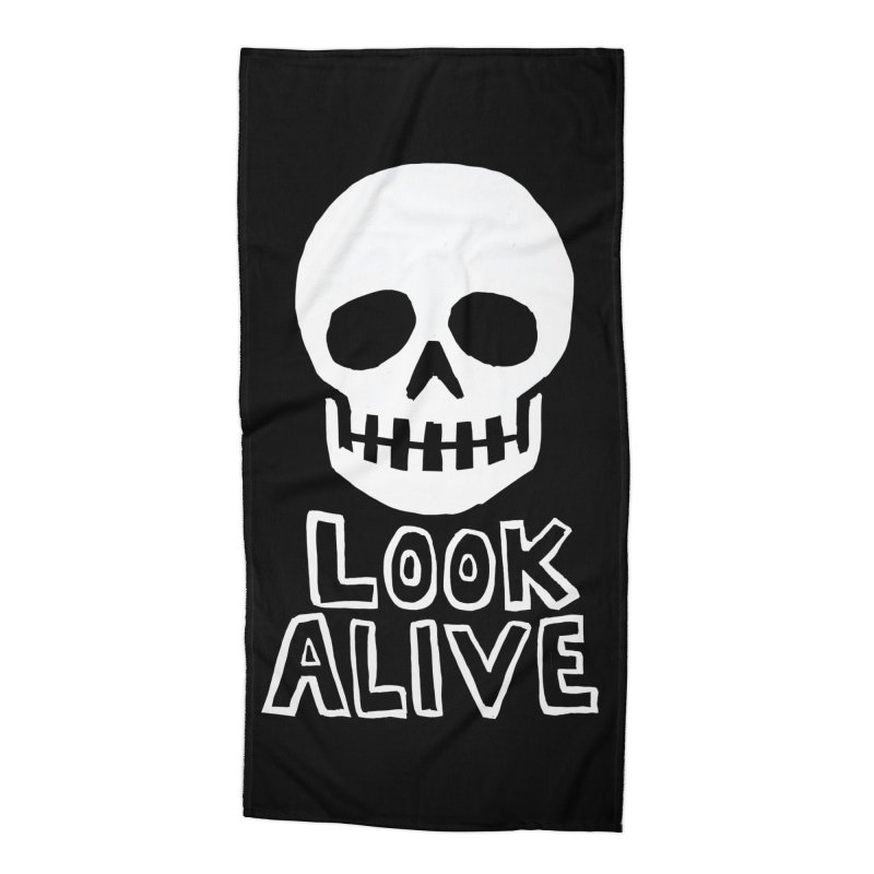 Look Alive Accessories Beach Towel by Renee Leigh Stephenson Artist Shop